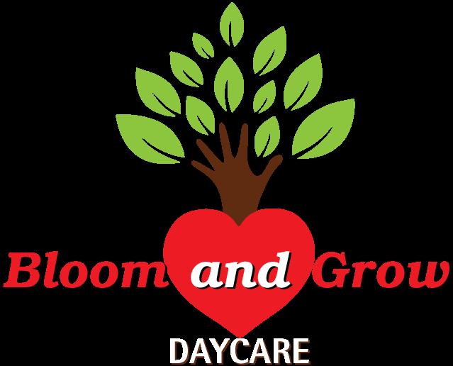 Bloom N Grow Daycare Kids Playgroup Logo